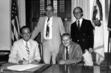 1981 Capital Outlay Program Provision Document Signing